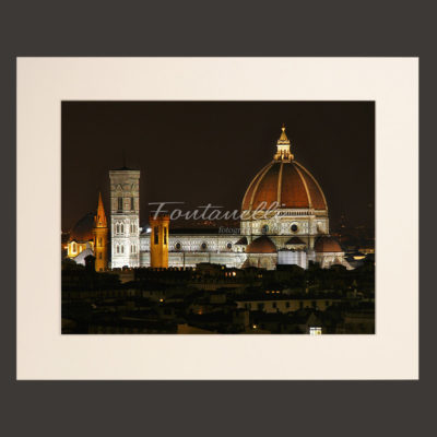 tuscany florence duomo by night for sale