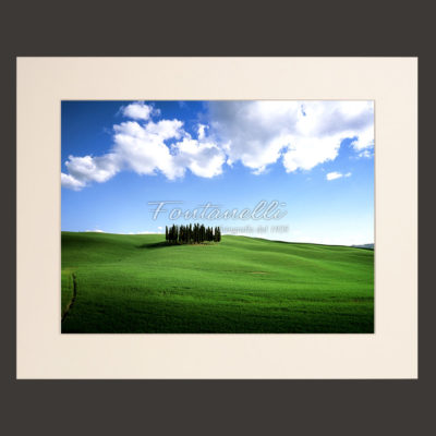 tuscany landscape picture for sale passepartout 26