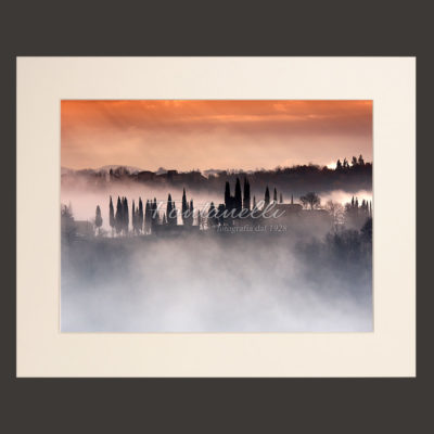 tuscany landscape picture for sale passepartout 4