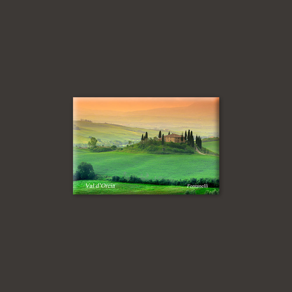 Val d'Orcia Tuscany magnet