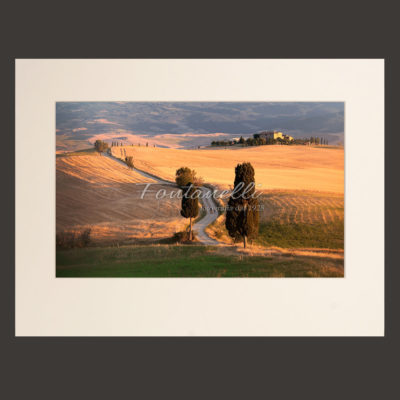 Tuscany landscape picture photo for sale