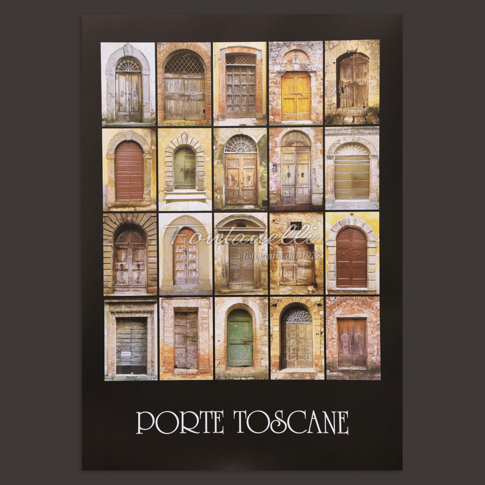 Poster tuscany and italian doors for sale online