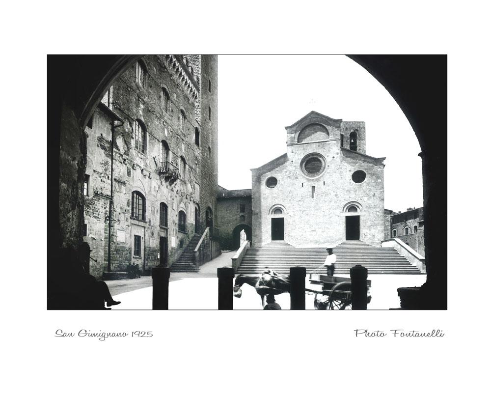 foto storiche di san gimignano e toscana foto fontanelli