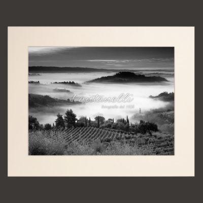 tuscany chianti region landscape black and white picture for sale 6