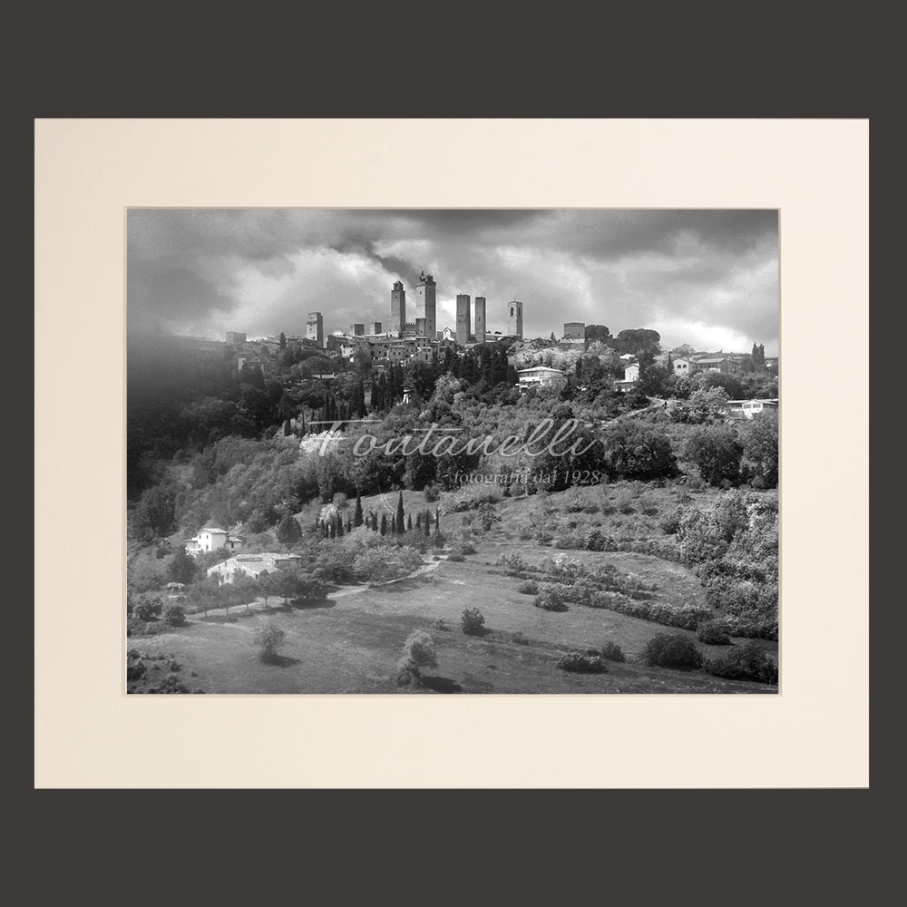 san gimignano black and white picture for sale 31