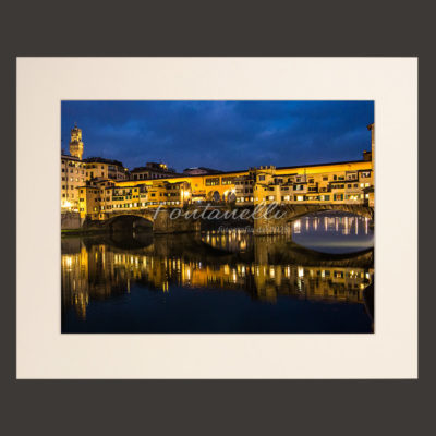 ponte vecchio florence by night picture for sale