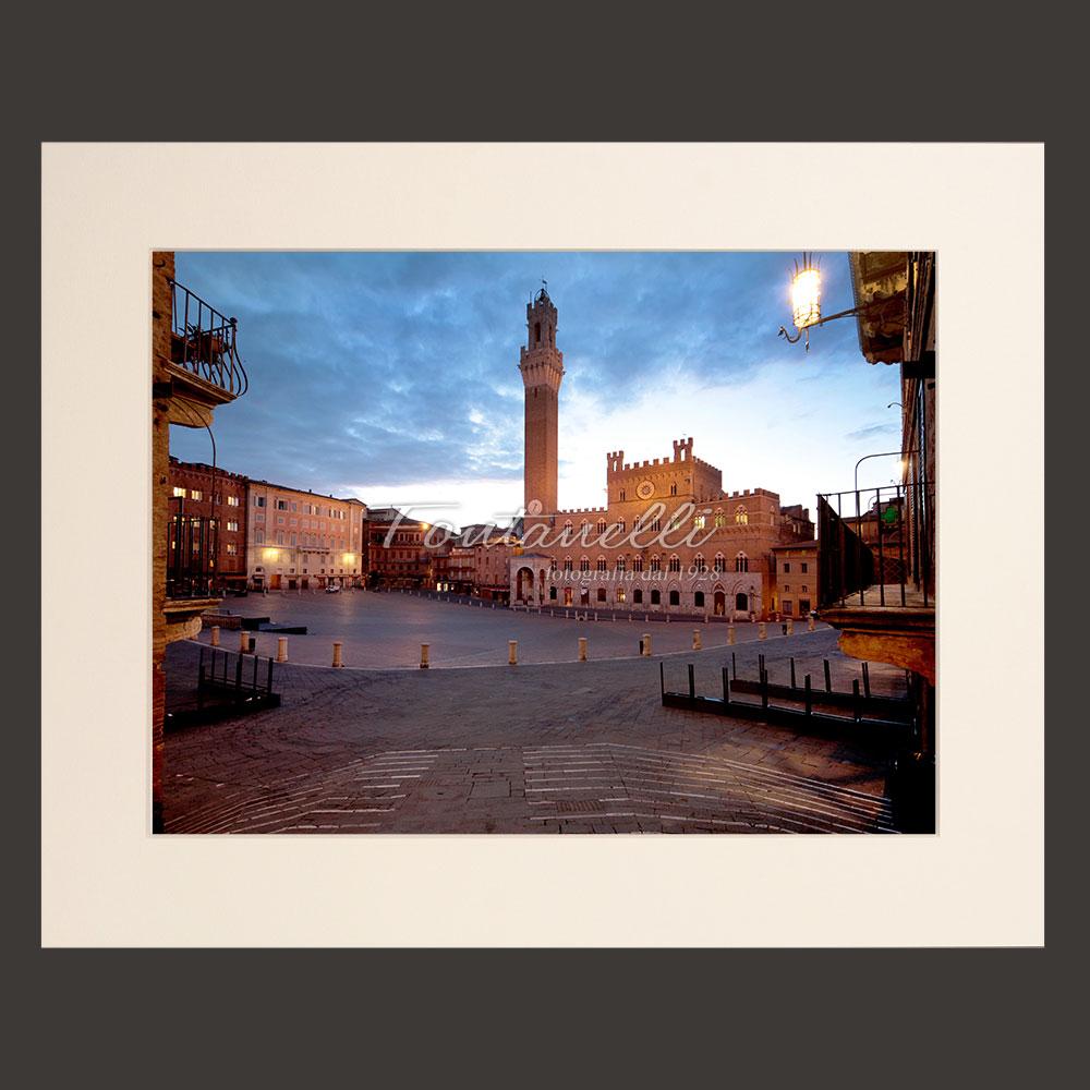 piazza del campo siena picture for sale passepartout 23