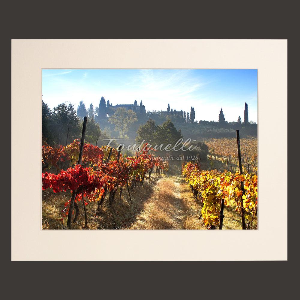 tuscany landscape picture for sale passepartout 30