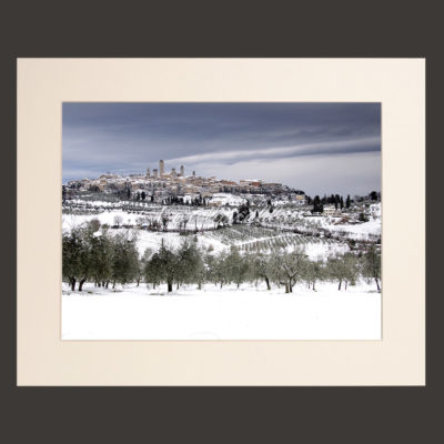 tuscany landscape picture for sale passepartout 24