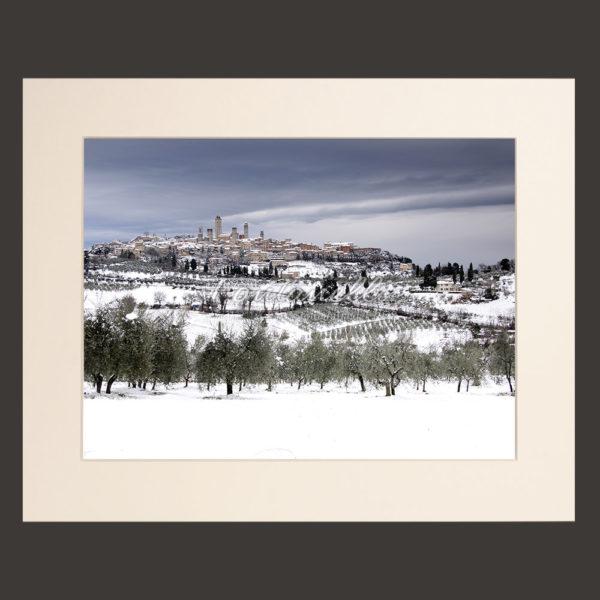 tuscany landscape picture for sale passepartout 24