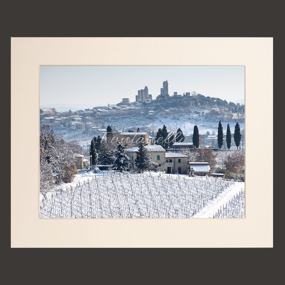 tuscany landscape picture for sale passepartout 23