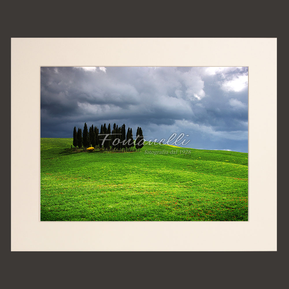tuscany landscape picture for sale passepartout 10
