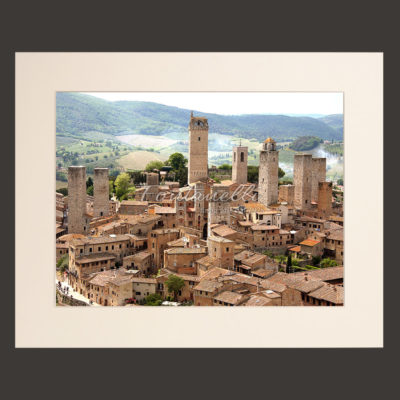 tuscany landscape picture for sale passepartout 8