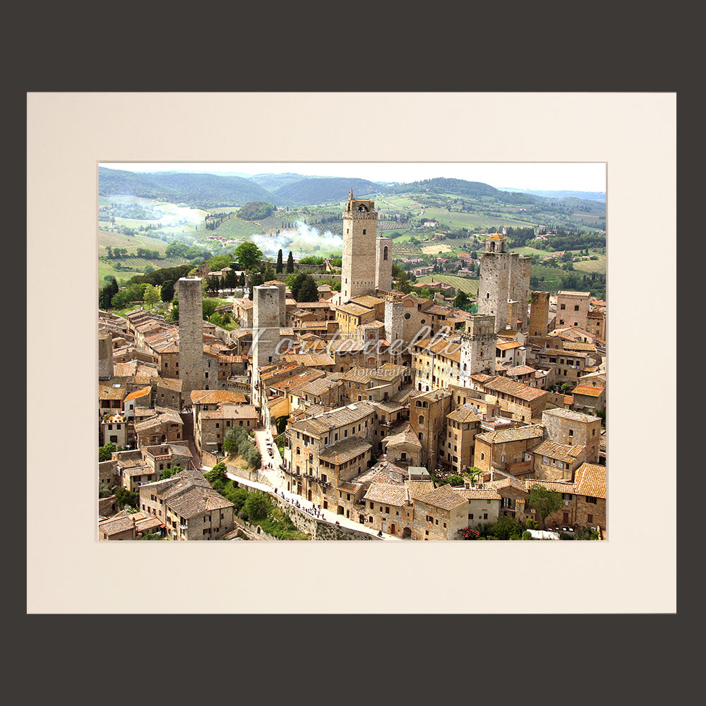 tuscany landscape picture for sale passepartout 7