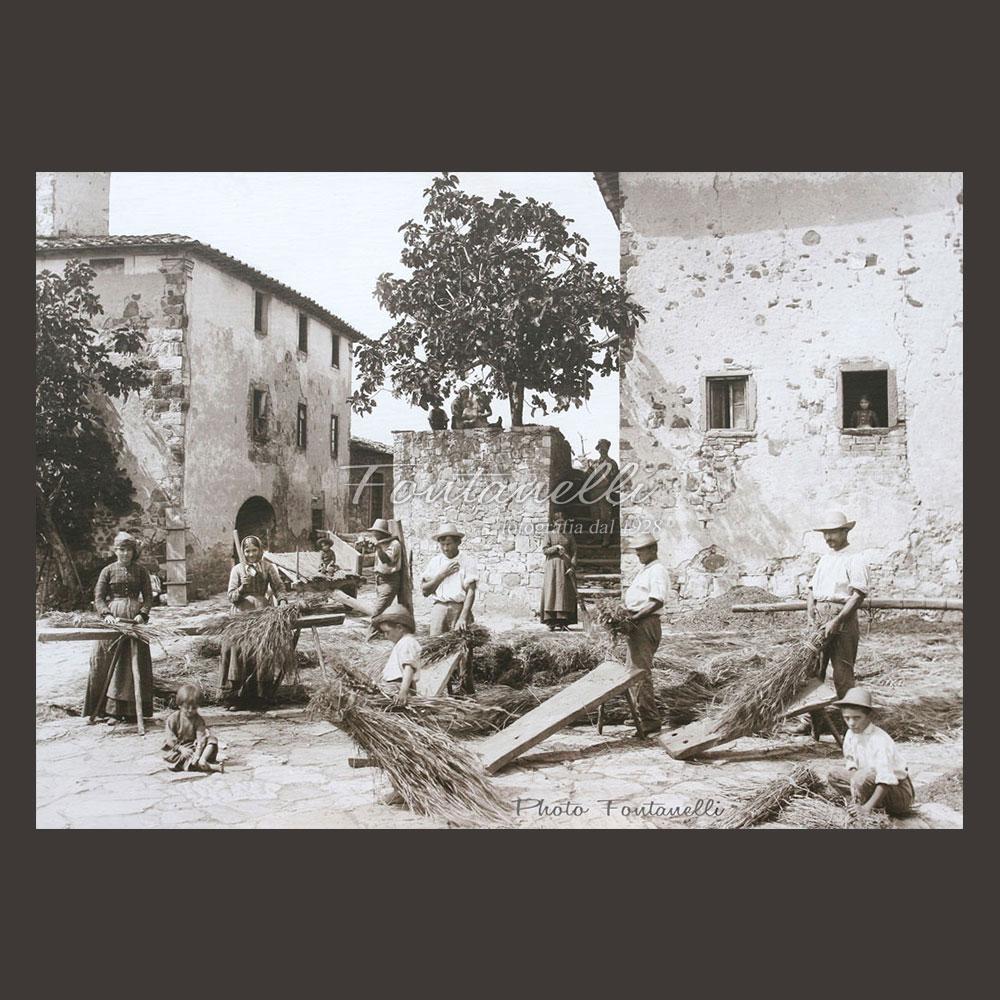 historic picture san gimignano tuscany black and white 66