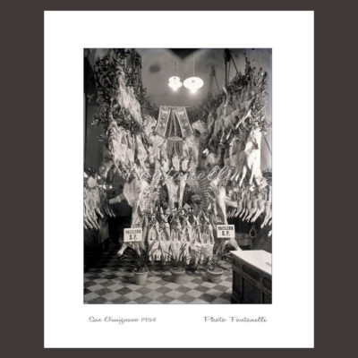 historic picture san gimignano tuscany black and white 43