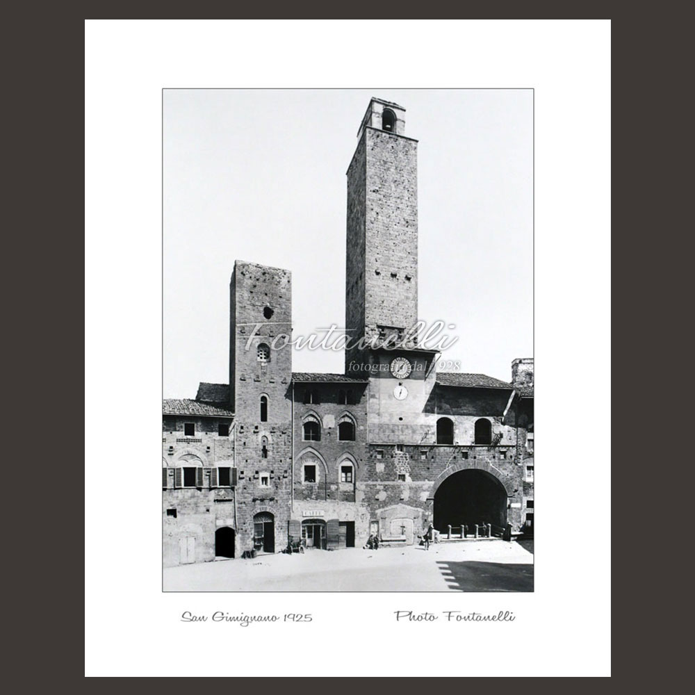 historic picture san gimignano tuscany 16
