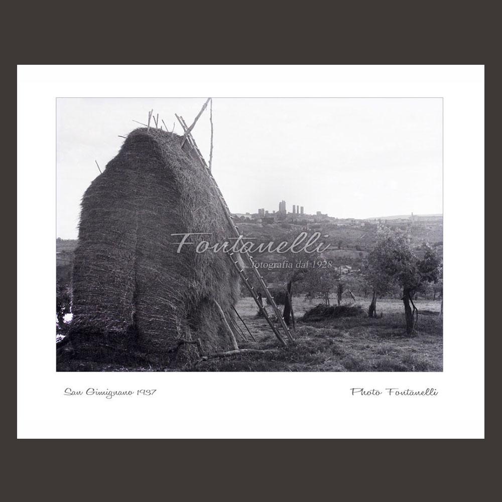 historic picture san gimignano tuscany 15