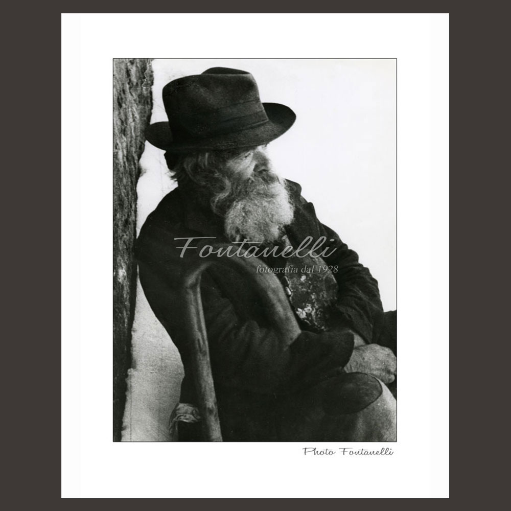 historic picture san gimignano tuscany italian worker