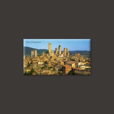 San Gimignano town Tuscany magnet