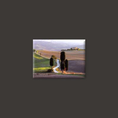 tuscany landscape magnet 6