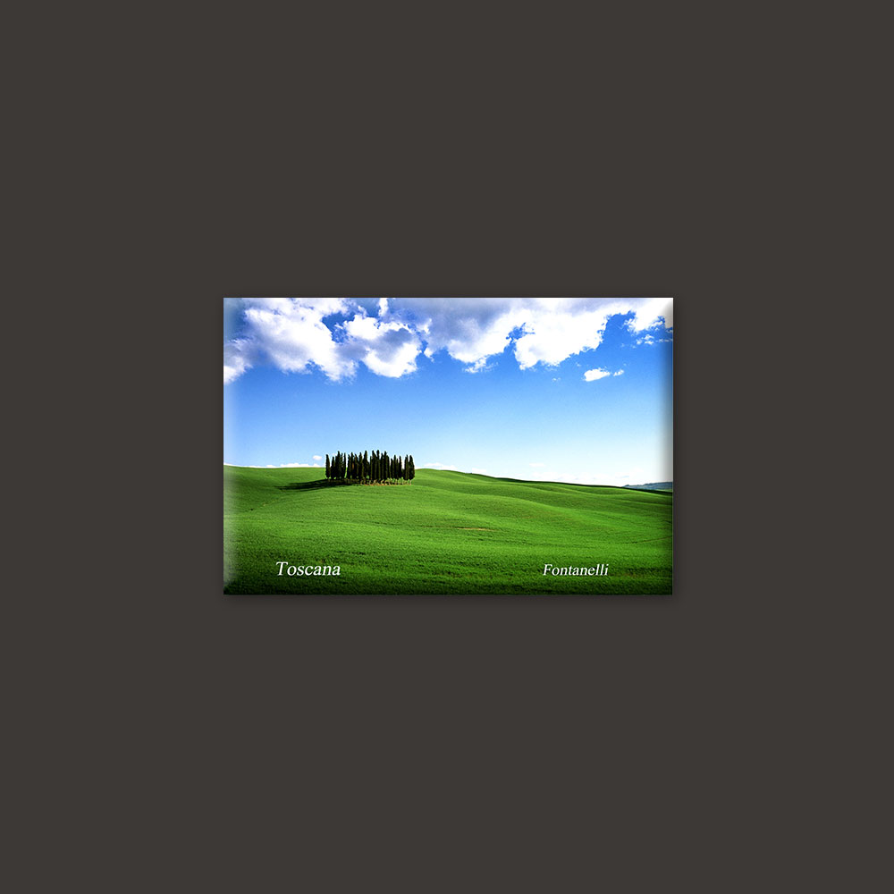 Tuscany landscape magnet 3