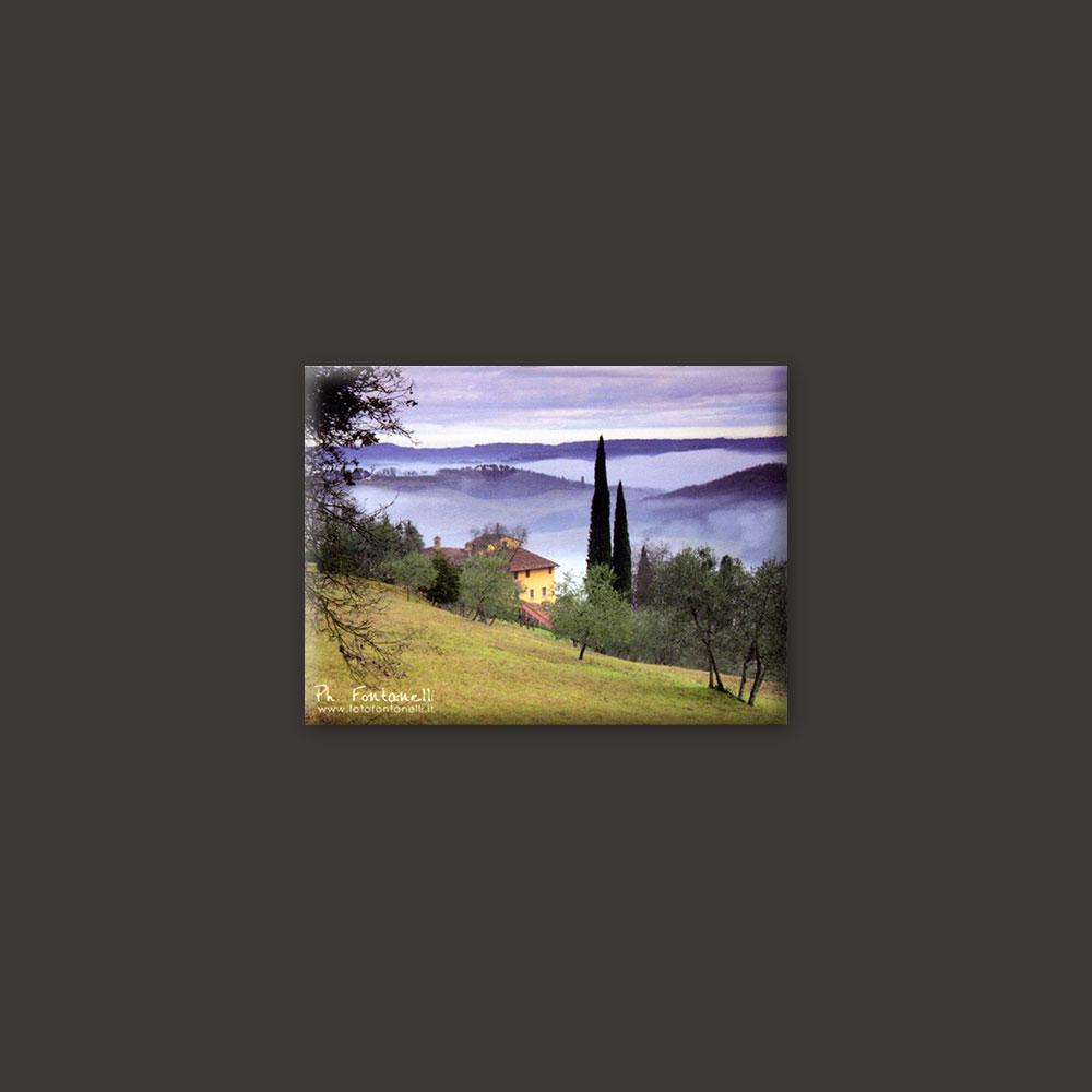 tuscany landscape magnet 5