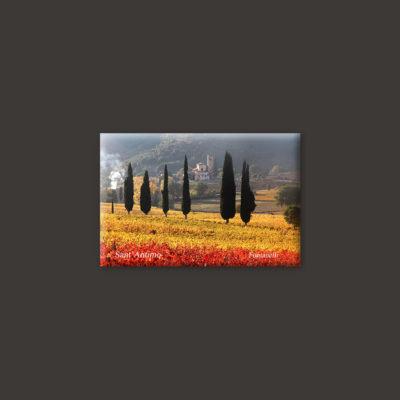 Tuscany landscape magnet 4