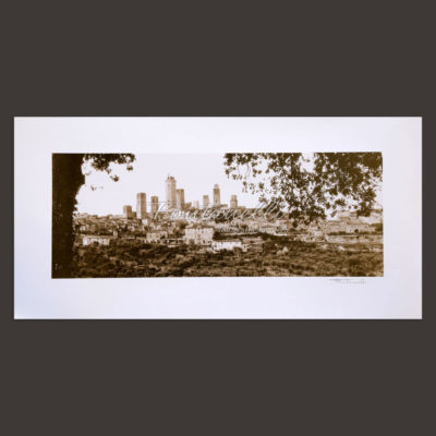 San Gimignano and Tuscany poster for sale online 2