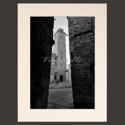 Scorcio della Torre grossa, San Gimignano